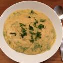 Bessara - Marokkaanse soep van gepelde tuinbonen